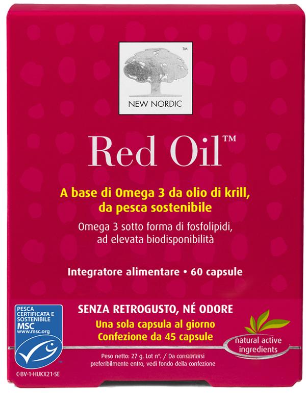 RED OIL 60 CAPSULE - Spacefarma.it