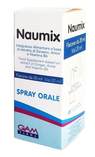 Naumix Spray 20ml - Carafarmacia.it
