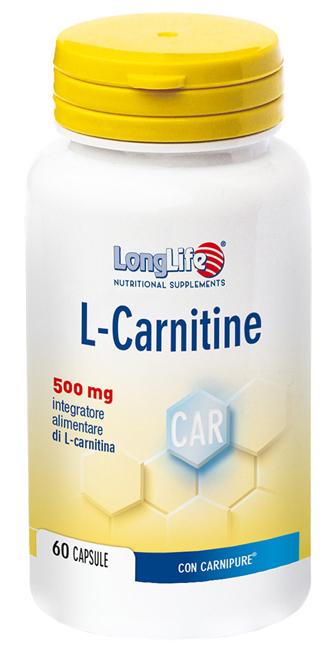 LONGLIFE LCARNITINE 60 CAPSULE - Sempredisponibile.it