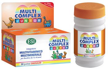 MULTICOMPLEX JUNIOR 50 DINOSAURI MASTICABILI - Farmacia Castel del Monte