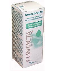 GOCCE OCULARI CON ACIDO IALURONICO CONTACTA 15ML MARCHIO CE - Farmia.it