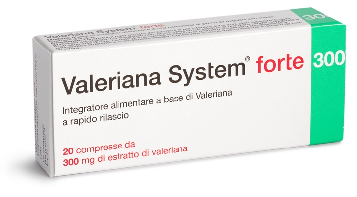 VALERIANA SYSTEM FORTE 20 COMPRESSE - Speedyfarma.it