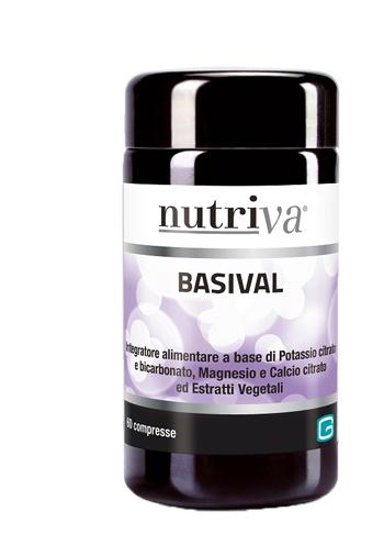 NUTRIVA BASIVAL 60 COMPRESSE - Farmaciacarpediem.it