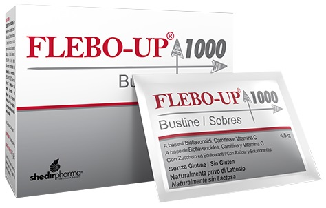FLEBO-UP 1000 18 BUSTINE 4,5 G - Farmapass