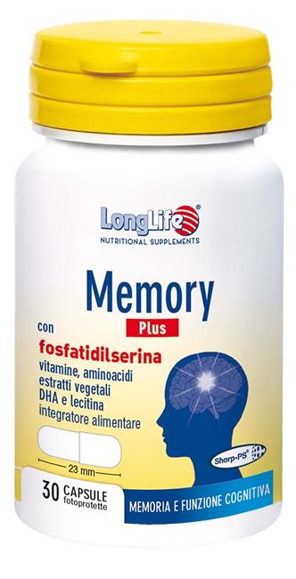 LONGLIFE MEMORY PLUS 30 CAPSULE - Farmafamily.it
