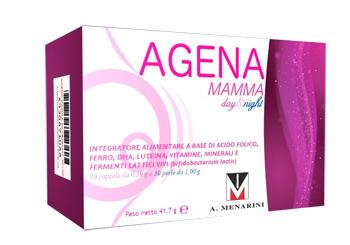 AGENA MAMMA DAY&NIGHT 30 CAPSULE + 30 PERLE - Spacefarma.it
