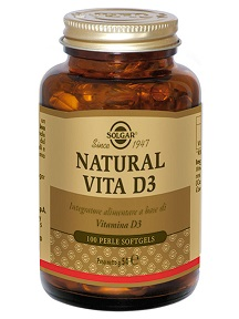 NATURAL VITA D3 100 PERLE - Farmabros.it