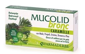 MUCOLID BRONC 24 CARAMELLE - Farmacia 33