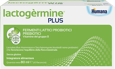 LACTOGERMINE PLUS FERMENTI LATTICI 10 FLACONCINI - Farmaunclick.it
