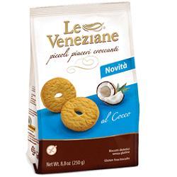 LE VENEZIANE BISCOTTI COCCO 250 G -  Farmacia Santa Chiara