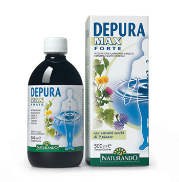 DEPURA MAX FORTE 500 ML - Farmafamily.it