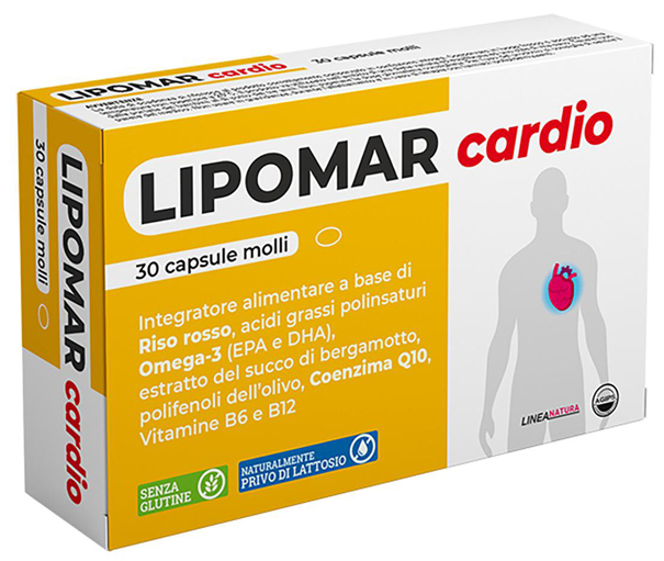 LIPOMAR CARDIO 30 CAPSULE MOLLI - Farmafamily.it