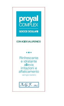 PROYAL COMPLEX GOCCE OCULARI FLACONE 15ML - Farmaseller