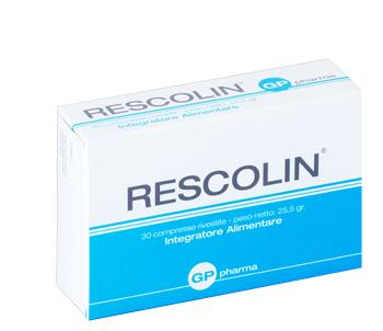 RESCOLIN 30 COMPRESSE - Farmacia Giotti