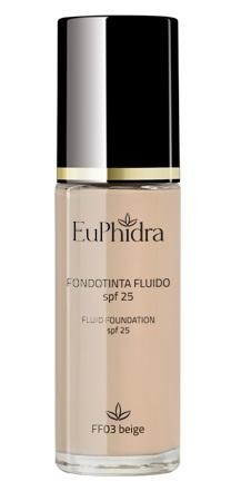 EUPHIDRA SKIN COLOR FONDOTINTA FLUIDO FF03 BEIGE - Farmajoy