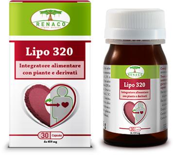 LIPO 320 30 CAPSULE - Farmaseller