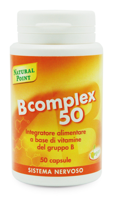 Natural Point B Complex Integratore Alimentare 50 Capsule - Carafarmacia.it
