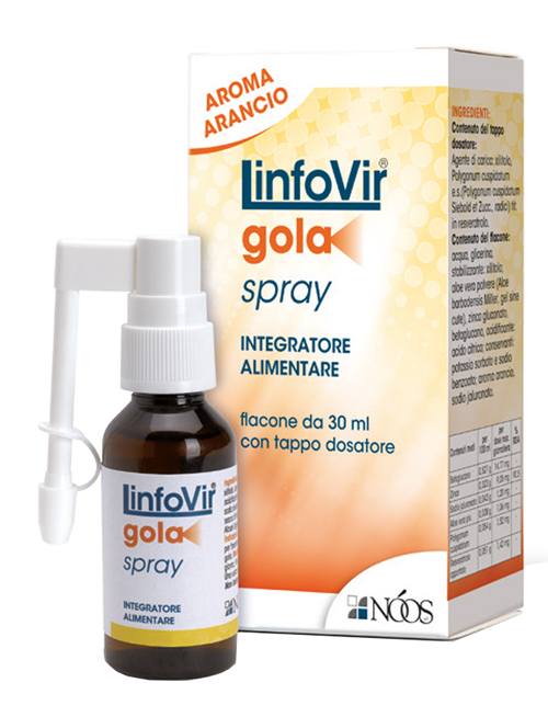 LINFOVIR GOLA SOLUZIONE ISOTONICA SPRAY 30 ML - Farmaciacarpediem.it