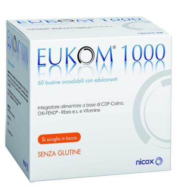 EUKOM 1000 60 BUSTINE OROSOLUBILI - Farmacia33