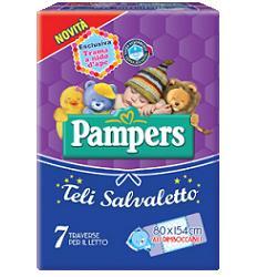 Pampers Teli Salvaletto 80x154cm 7 Teli - Parafarmacia la Fattoria della Salute S.n.c. di Delfini Dott.ssa Giulia e Marra Dott.ssa Michela