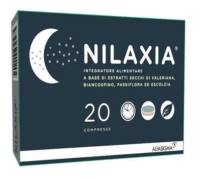 NILAXIA 20 COMPRESSE - farmaciadeglispeziali.it