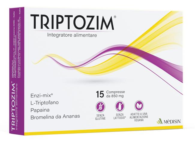 TRIPTOZIM 15 COMPRESSE - Farmacia Massaro