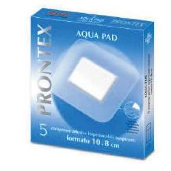 Prontex Aqua Pad Garza Compressa 10 x 8cm 5 Pezzi - Sempredisponibile.it