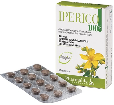 Pharmalife Research Iperico 100% Integratore Alimentare 60 Compresse - Zfarmacia