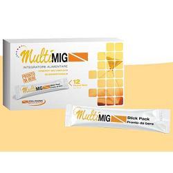 MULTIMIG 12 BUSTINE STICK PACK 15 ML