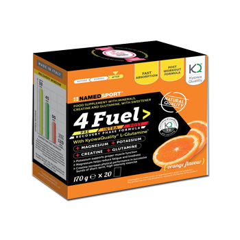 4 FUEL SPORT POLVERE 20 BUSTINE - Spacefarma.it
