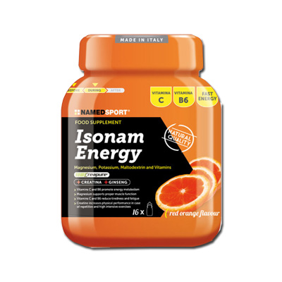 ISONAM ENERGY ORANGE POLVERE 480 G - Farmacia Castel del Monte