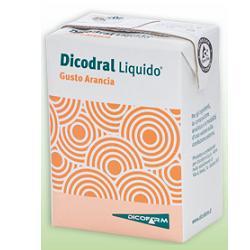 DICODRAL LIQUIDO ARANCIA 3 BRIK 200 ML - La tua farmacia online