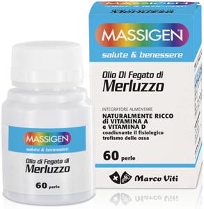 MASSIGEN OLIO DI FEGATO DI MERLUZZO 60 PERLE - FARMAPRIME