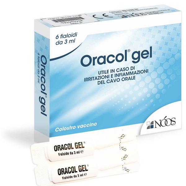ORACOL GEL 6 FIALE 3 ML - Farmajoy