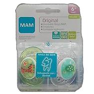 MAM ORIGINAL SUCCHIETTO 6+ SILICONE CONFEZIONE DOPPIA - Farmaci.me