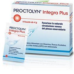 PROCTOLYN INTEGRA PLUS 14 BUSTE - farmaciadeglispeziali.it