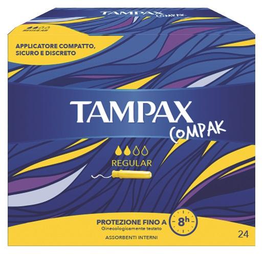 TAMPAX COMPAX REG 24PZ - Sempredisponibile.it