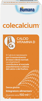 COLECALCIUM SCIROPPO FLACONE DA 150 ML CON CUCCHIAINO DOSATORE - Farmacia Massaro