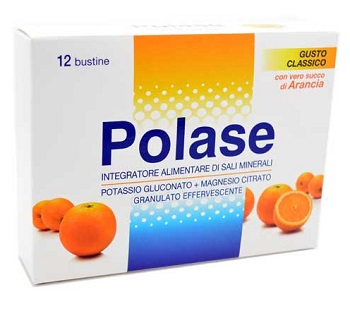 POLASE ARANCIA 12 BUSTINE EFFERVESCENTI - Farmacielo