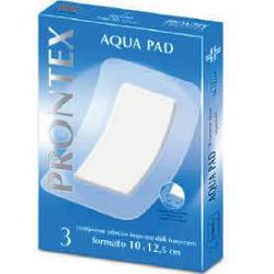 Prontex Aqua Pad Garza Compressa 10 x 12,5cm 3 Pezzi - Sempredisponibile.it