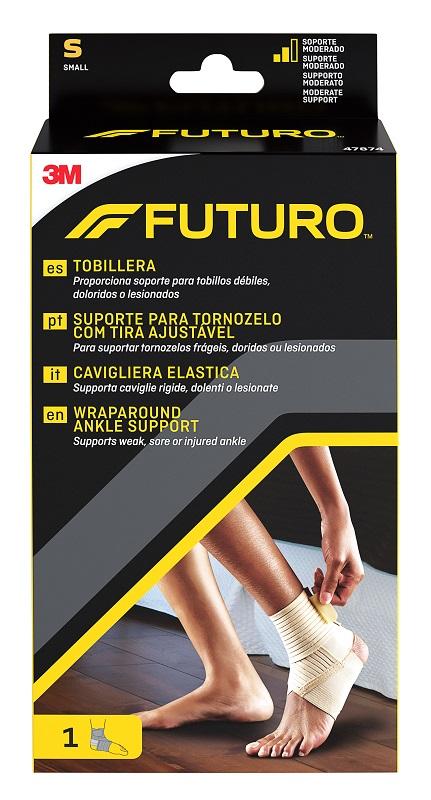CAVIGLIERA ELASTICA FUTURO SMALL DIMENSIONE 18/20,5CM - Farmaci.me
