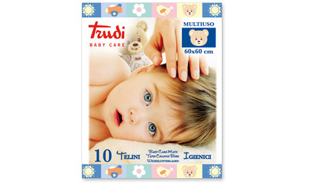 TRUDI BABY CARE TELINO 60 X 60 CM - Farmafamily.it