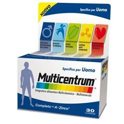 MULTICENTRUM UOMO 30 COMPRESSE - Carafarmacia.it