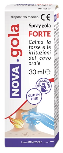 NOVA GOLA SPRAY FORTE 30 ML 1 PEZZO - Parafarmacia Tranchina