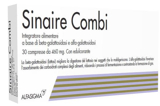 SINAIRE COMBI 30 COMPRESSE - Farmastar.it