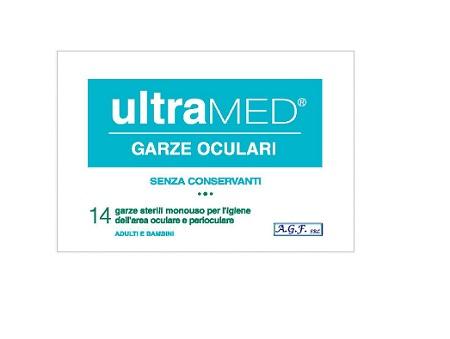GARZA OCULARE ULTRAMED 14 PEZZI - Farmacia Centrale Dr. Monteleone Adriano