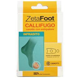 ZETAFOOTING CEROTTO CALLIFUGO INFRADITO 6 PEZZI - Farmacia Massaro