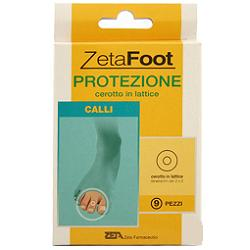 Zeta Foot Cerotto Protettivo In Lattice Per Calli 9 Pezzi