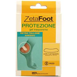 ZETA FOOT GEL TRASP.RETROTALLONE 2PZ - Farmapage.it