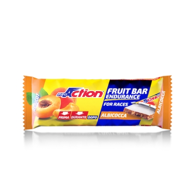 ProAction Fruit Bar Endurance Barretta Energetica all'Albicocca 40 g - latuafarmaciaonline.it